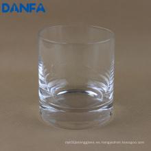 Vaso de Whisky Soplado a Mano de 9oz