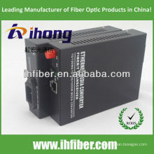 10/100 / 1000M FC SM Single Fiber Optical Media Converter