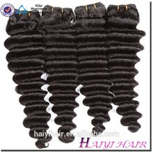 Cheveux vierges non transformés bruts de la meilleure qualité 10A 100 cheveux vierges humains dans les cheveux vierges crus de la Chine