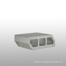 Profilé en aluminium d'extrusion de la série 6000 de produits en aluminium