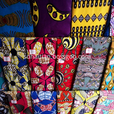 New Design Super Wax Fabrics
