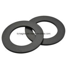 Кольцевые магниты с черной эпоксидной и никелирующей наплавкой