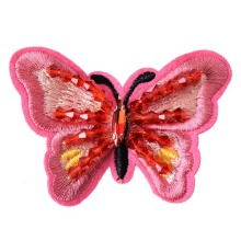 Acrylic Stones Beads Butterfly Embroidery Patches