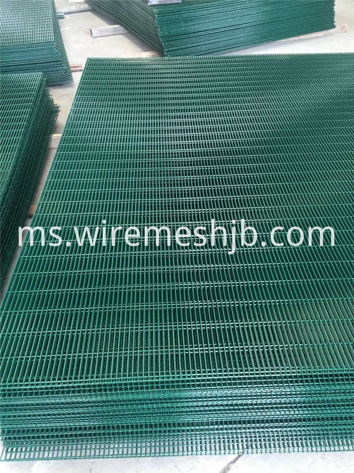Hot Dipped Galvanized 358 Fence