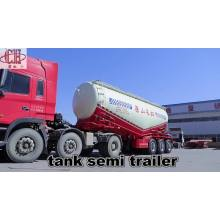 3 Axle Bulk Flour Tanker 40cbm Trailer