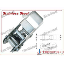 1 Inch Stainless Lock Tie Down Buckle