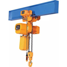 1ton Monorail Traveling Trolley Electric Chain Hoist For Workshop