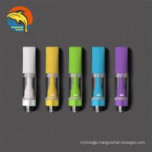 Canada wholesale full ceramic vaporizer cartridge .5ml 1ml vape pen cartridge Authentic ceramic empty vape cartridge