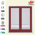 Porte Patio Prehung Bluff rouge