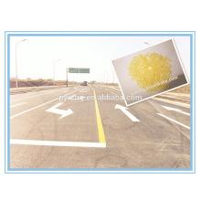 Resina de hidrocarboneto C5 usada para a pintura de marcação de estradas Hot Melt