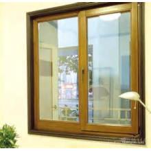 Double Glazing Aluminum / Aluminium Metal Fixed Glass Sliding & Casement Window