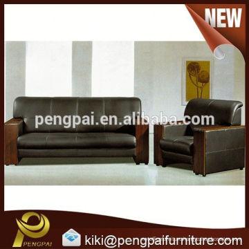 Popular modern leather office sofa(A-916) 1+1+3