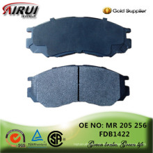 Nicht-Asbest, Scheibenbremsbeläge, OE Qualität, heiße Verkäufe Autoteile (OE: MR 205 256 / FDB 1422)