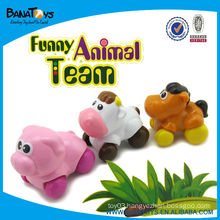 Cartoon pull back action toy car