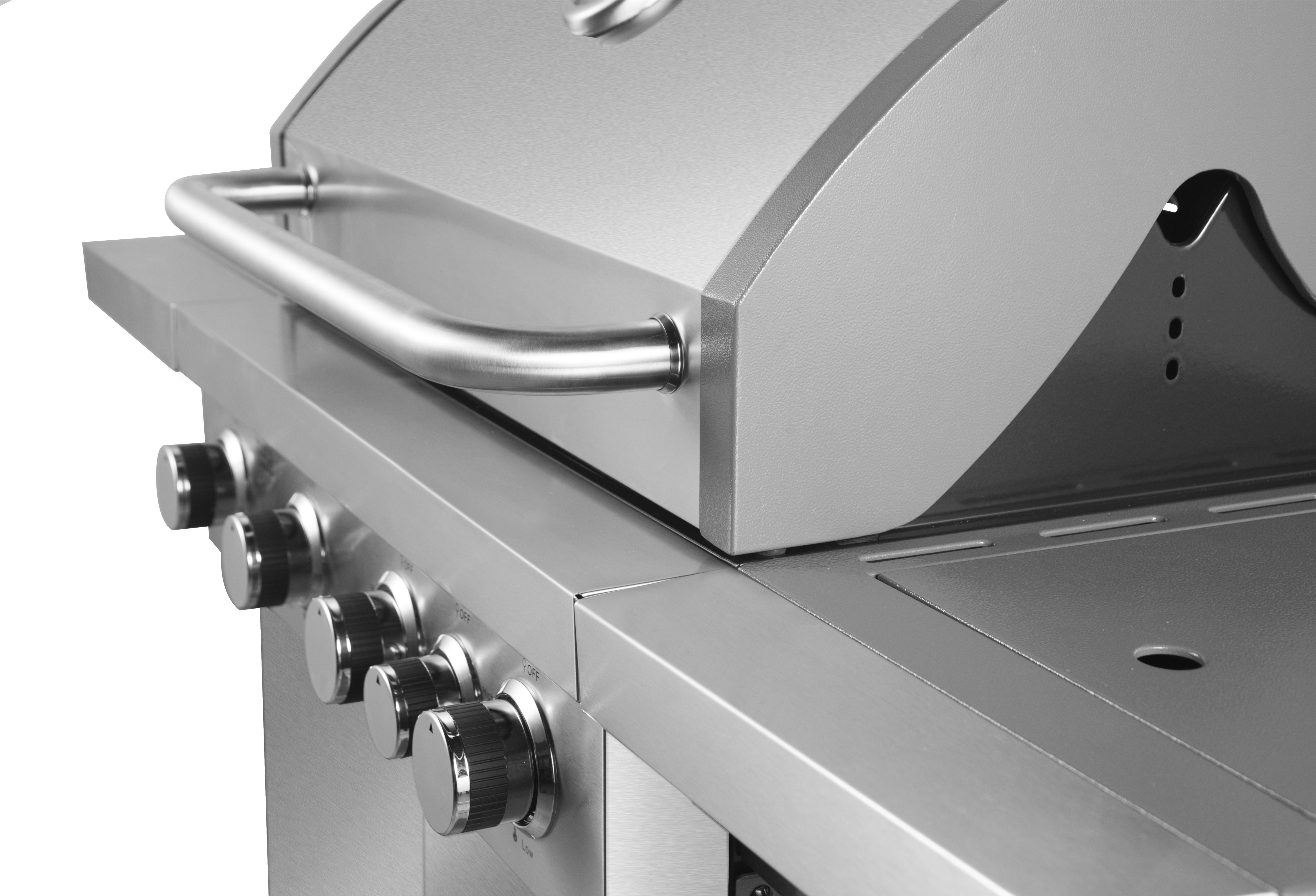 Portable Stainless Steel Gas BBQ Grill