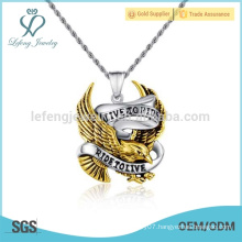 Trendy dubai gold pendant for sale,new design alphabet style charm pendant