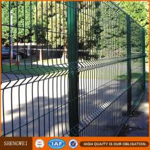 Cheap Triangular Bending Wire Mesh Metal Fence Panels