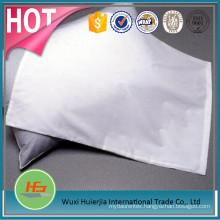 Deluxe design solid color cotton bedding pillow case/pillow slip