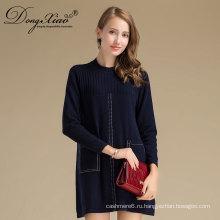 Зимние Высшей школы моды свитер платье с низкое moq и цены