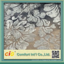 Chenille jacquard sofa fabric stock lots