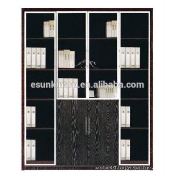 Bookshelves furniture office used with dark oak color, furniture for office for sale (KB844-2)