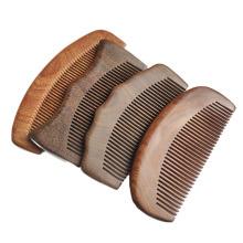 Make-up Haarpflege-Tools Holztasche Haarkamm