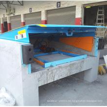 Operación mecánica Steel Edge Dock Leveler