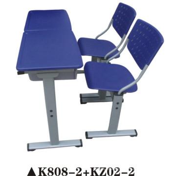 Double chaise d'étudiant et bureau pour les enfants