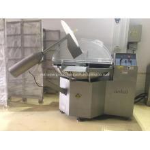 Sausage processing machine of bowl cutter