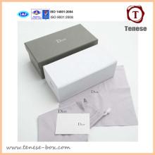 Роскошный картонная коробка для подарков с логотипом