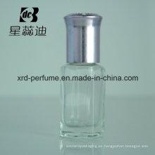 Botella de cristal modificada para requisitos particulares de la moda del precio de fábrica de la venta 5ml