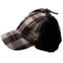 2014 New Style Checked Sports Winter Cap (GKD27-008)