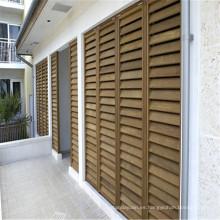 persianas de madera de la ventana de la plantación de la ventana de la ventana de la ventana