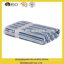 100 gestreifte Luxus-Handtücher aus Baumwolle