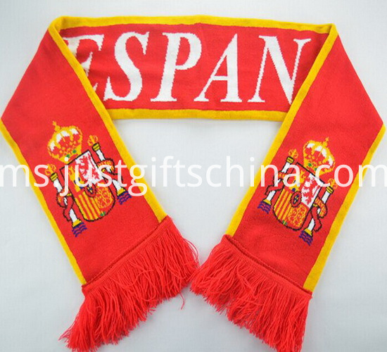 Promotional Latest Design Knitted Scarf2