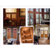 Persiennes de fenêtre à lamelles de bas de 50 mm (SGD-W-5051)