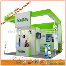 diseño de sistema de cabina de exposición personalizada y contratista de producción