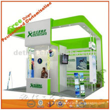 custom exhibition booth system design and produce contractor