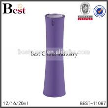 2017 горячие новые продукты косметика 12 мл 16 мл 20мл женщин в форме духи бутылки фиолетовый пластиковая крышка брызга стеклянные bottlee духи