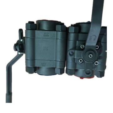 АНСИ 800lb задерживающего кованые стальные a105 конец резьбы шариковый Клапан NPT