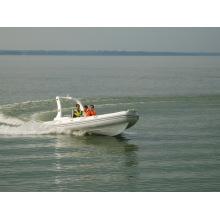 Bateau semi-rigide / bateau pneumatique rigide (Rib580B) - Très chaud