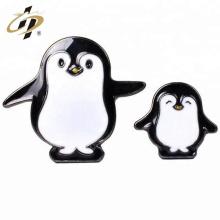 Impression en gros pas cher avec épinglette de pingouin personnalisé époxy