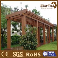 Jardim de WPC Pergola /Fence trilhos Guangzhou fabricante