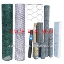 electro galvanized triple twist hexagonal wire mesh(30 years factory)