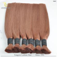 Pelo negro natural de la onda del pelo y del cuerpo recto / viruta remy sin procesar del pelo humano de Vietnam