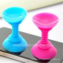 Elastómero de moda borracha de silicone para iPhone sucção