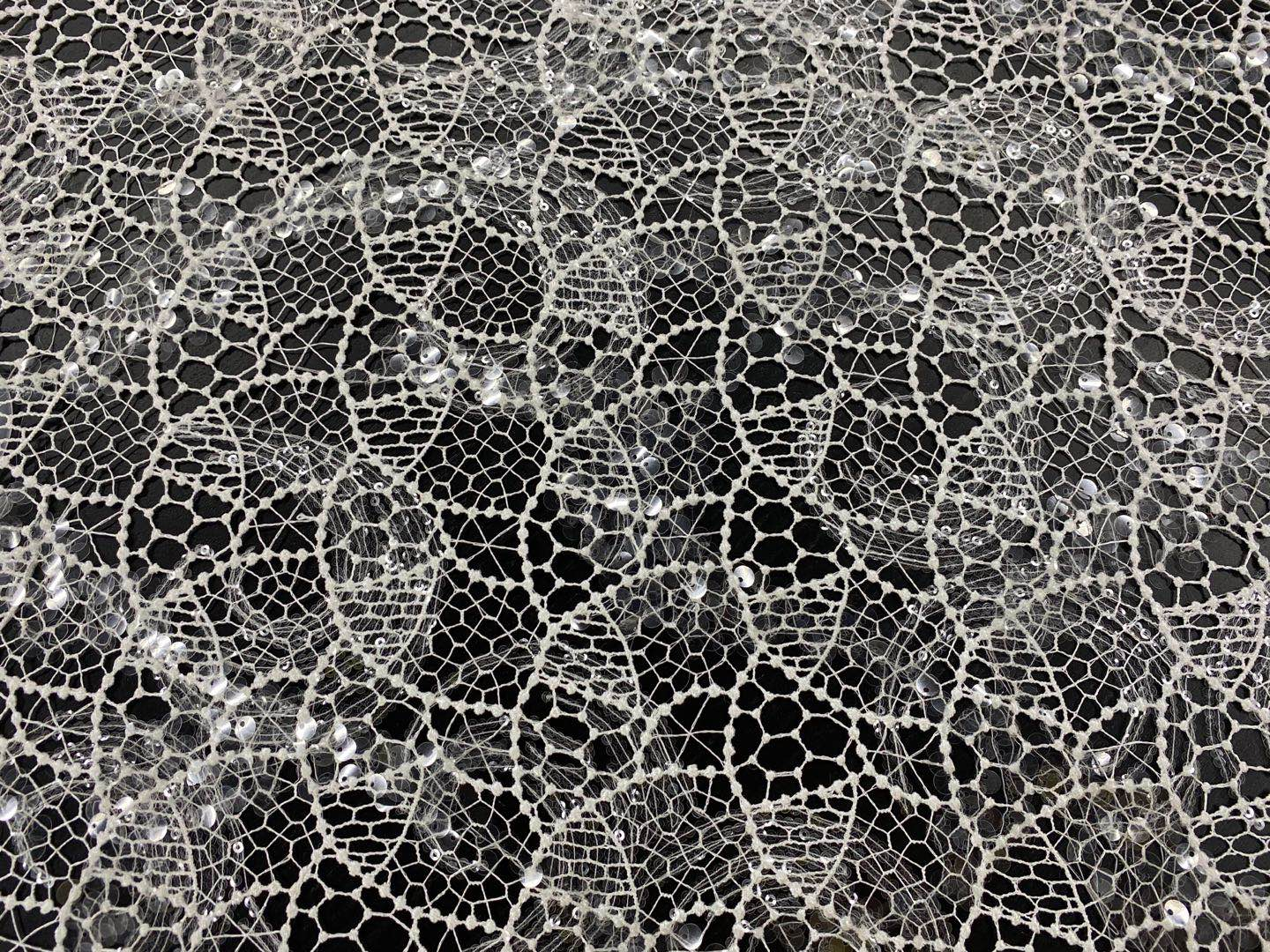 Modern Chemical Lace Embroidery Fabric
