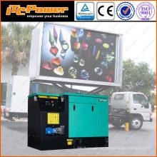 16kW generador diesel a prueba de sonido para móvil llevó camión pantalla