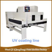 Hölzerne Lackiermaschine / UV-Anstrichlinie für MDF-Platte / Sperrholz / Massivholz / Melamin Holz-UV-Rollen-Anwendung
