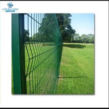 1.2m high V Mesh fencing PPC green